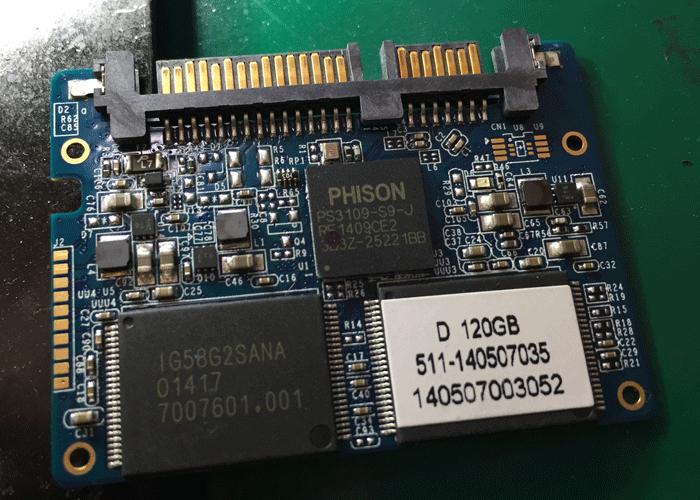 金泰克S350固态硬盘不认盘 PS3109主控SSD数据恢复成功