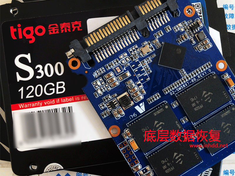 金泰克S300固态硬盘掉盘无法识别不读盘 SM2258XT主控数据恢复成功