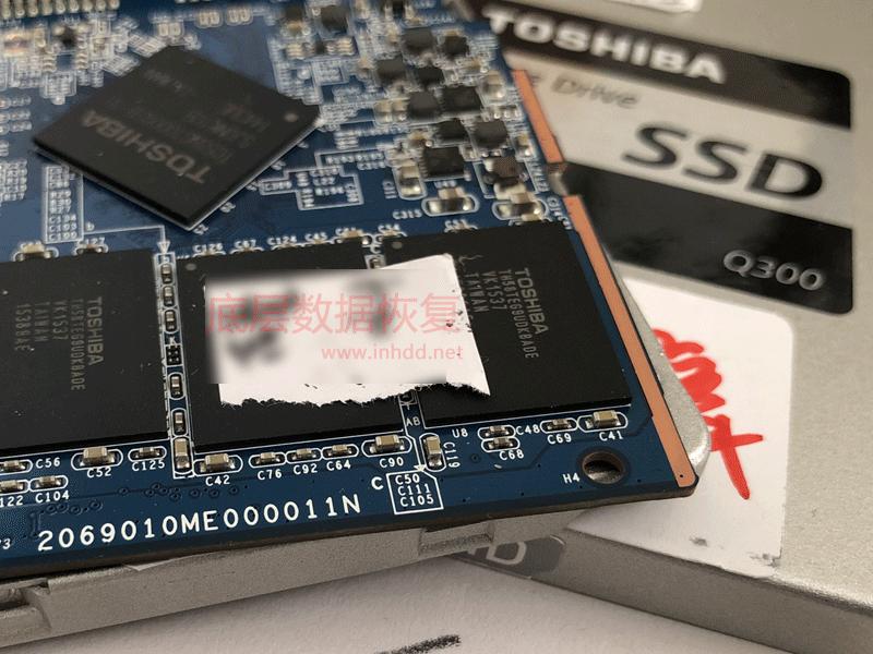 东芝Q300固态硬盘掉盘不识别数据恢复成功