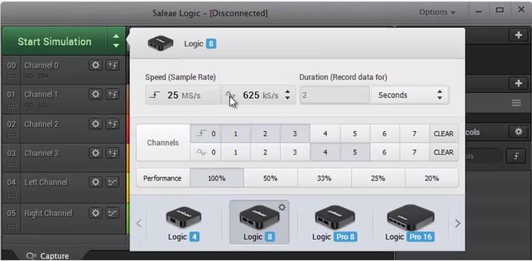 FLASH数据恢复工具 美国Saleae Logic Pro逻辑分析仪