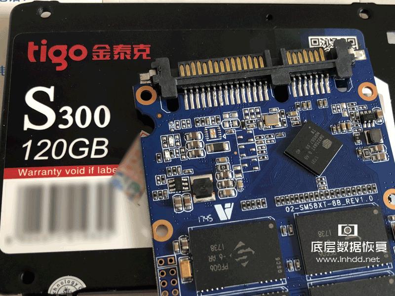 固态硬盘主控SM2258XT数据恢复 金泰克通电无反应数据恢复成功