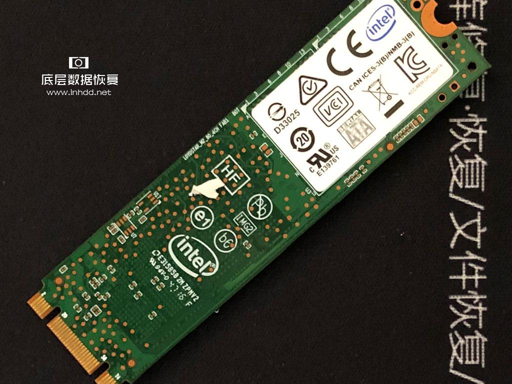 Intel固态硬盘SSDSCKKF240H6L损坏数据恢复成功